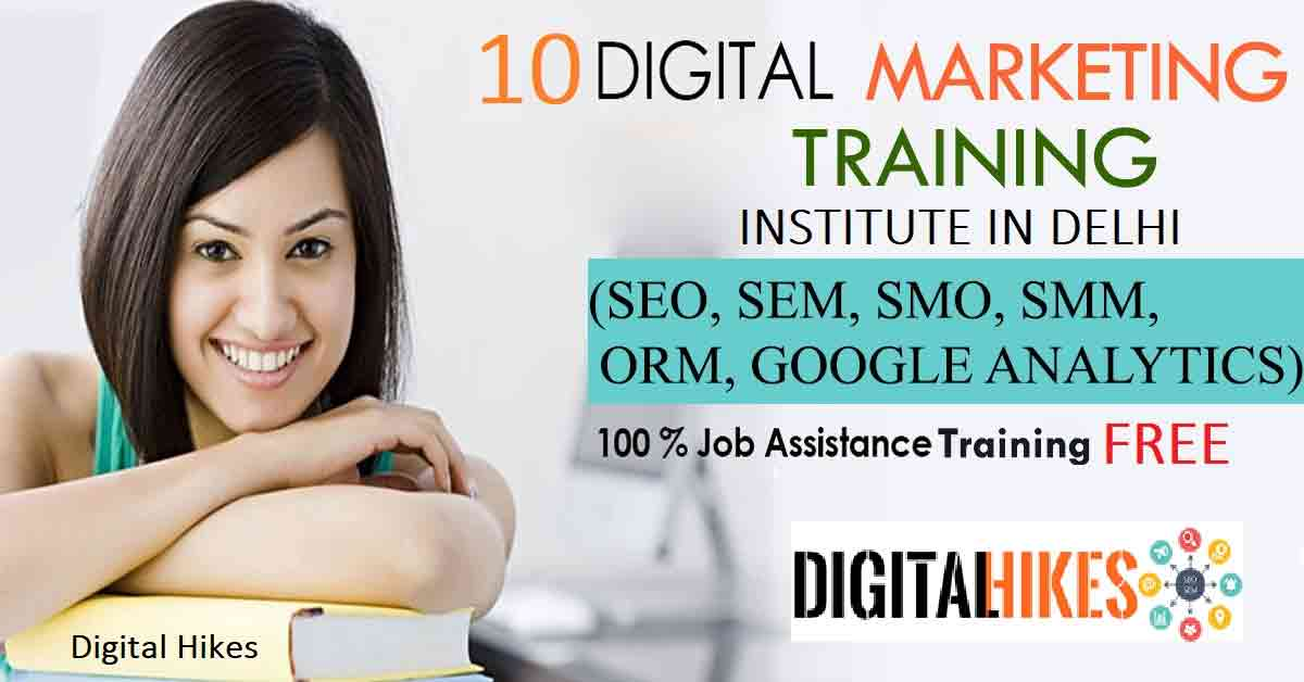 Top 10 Digital Marketing Institute in Delhi