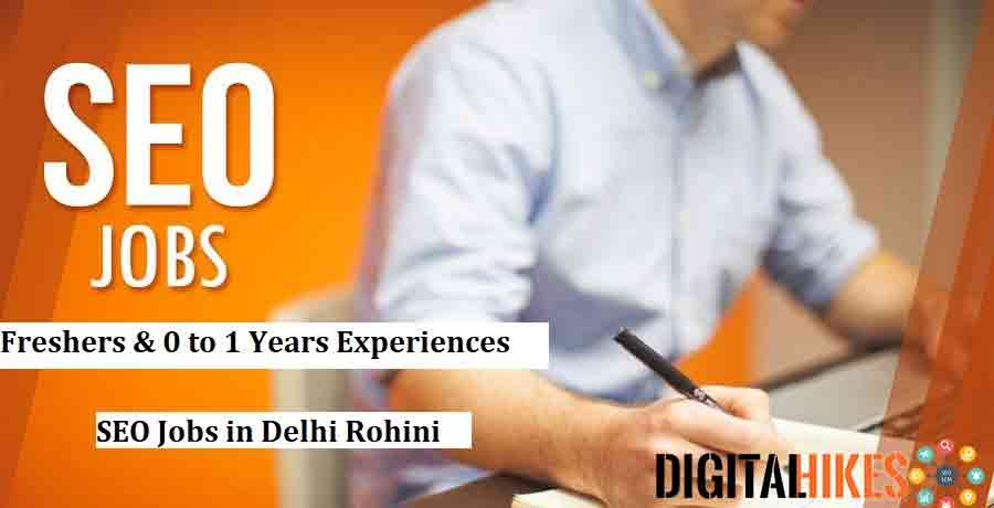 SEO Jobs in Delhi