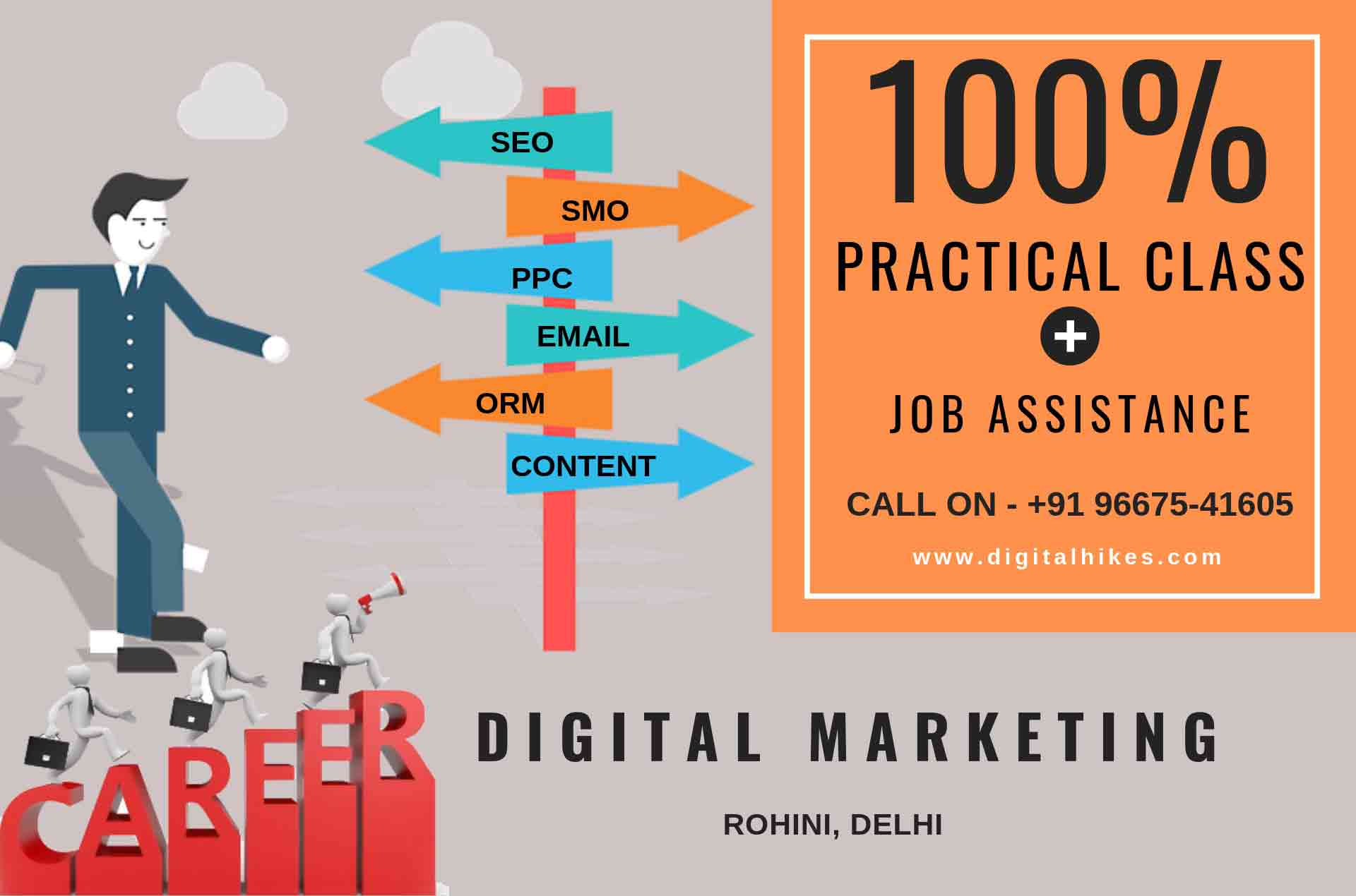 Digital marketing Training Institute in Rohini