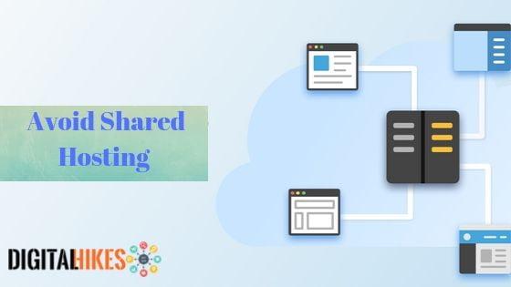 Avoid Shared Hosting