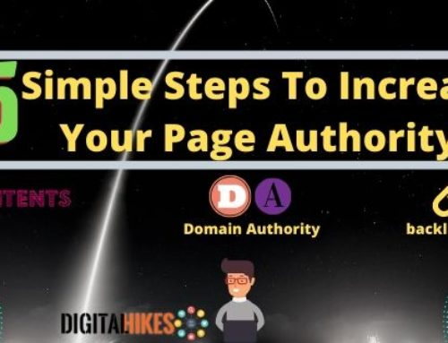 What are the 5 steps to increase your page authority(PA)?