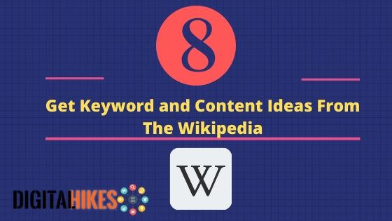Get keywords ideas from wikipedia
