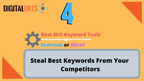 Steal the best Keywords from your Competitors