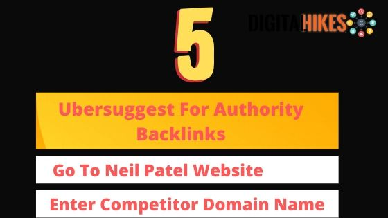 Ubersuggest Will Assist You to Find a High Authority Backlinks
