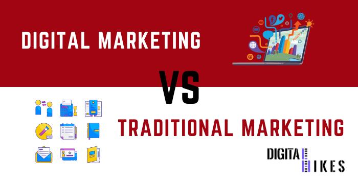 DIgital marketing vs traditional marketing