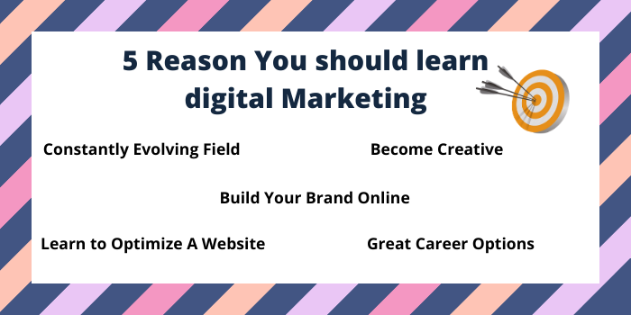 Reasons to study digital marketing