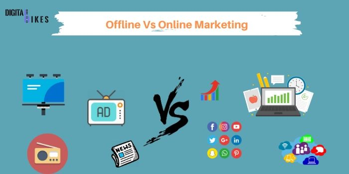 offline vs online marketing