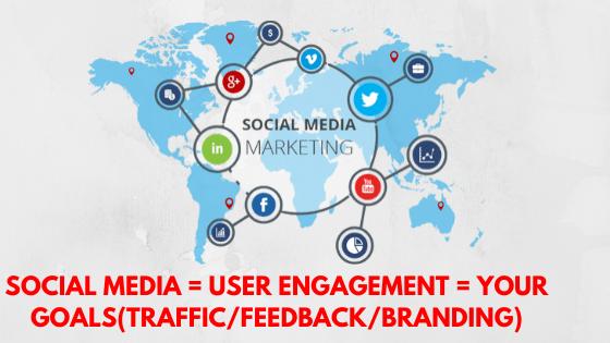 principal of Social media marketing