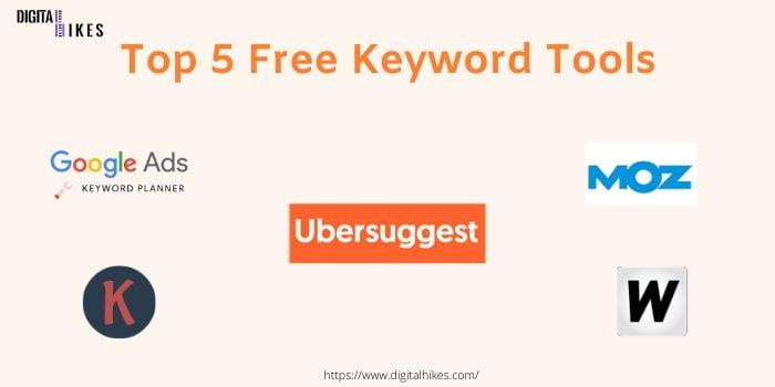 5 top free keyword tools